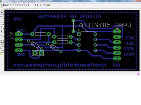 PCB USBtinyISP